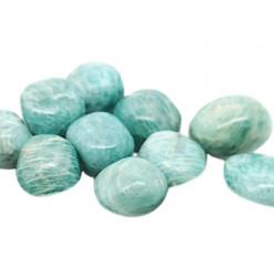 pierre amazonite roulée
