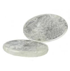 cristal de roche galet poli