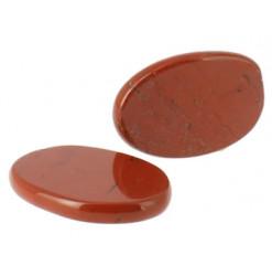 pierre plate jaspe rouge