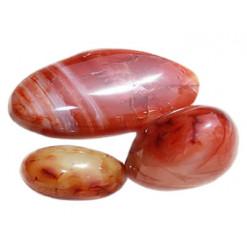 cornaline galet pierre roulée