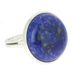 lapis lazuli bague cabochon