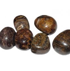 pierre roulée de bronzite