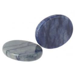 pierre plate aventurine bleue