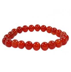 bracelet en perles de cornaline