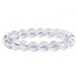 bracelet perles de cristal de roche
