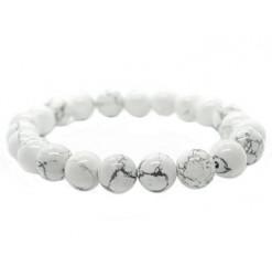 howlite bracelet perles de pierre