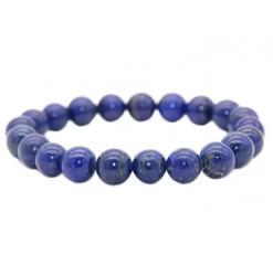 bracelet en perles de lapis lazuli