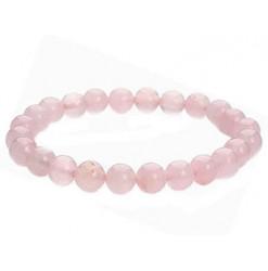 quartz rose bracelet perles