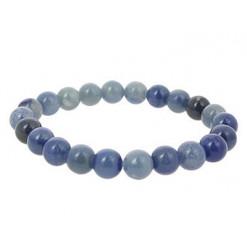 aventurine bleue bracelets perles