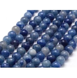 aventurine bleue perle ronde