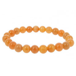 bracelet perles aventurine rouge