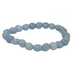 bracelet angélite pierres roulées