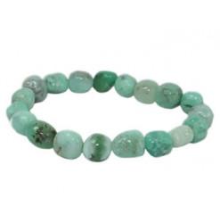bracelet chrysoprase pierres nuggets