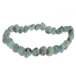 bracelet pierres nuggets de larimar
