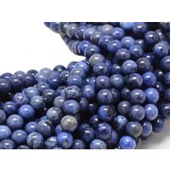 perles pierre de dumortierite