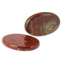 pierre plate de jaspe breschia