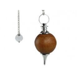 pendule bois de santal séphoroton