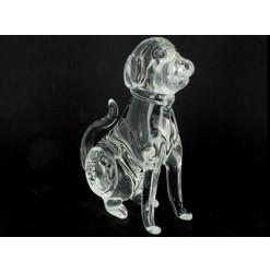 chien en cristal