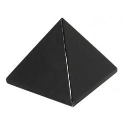 obsidienne noire pyramide