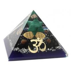 pyramide orgonite merkaba malachite