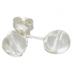 cristal de roche puces oreilles