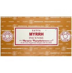 satya encens bâtons myrrhe