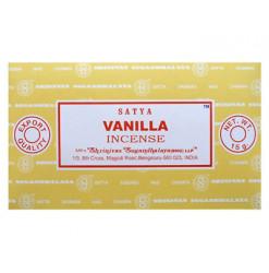 encens satya vanille