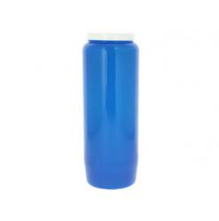 bougie bleu de neuvaine