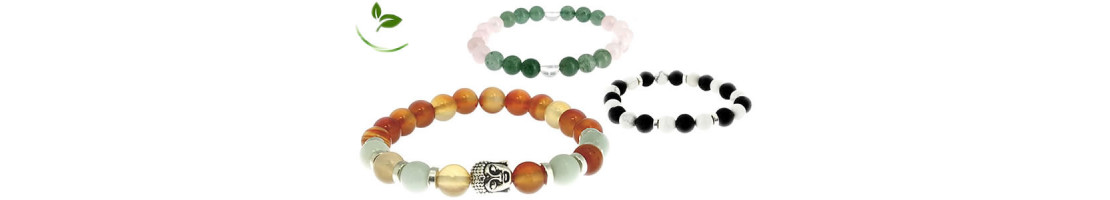 Bracelets de lithothérapie en pierres naturelles - Zen Desprit