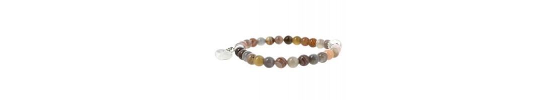 Bracelets perles fines avec coeur - Zen Desprit