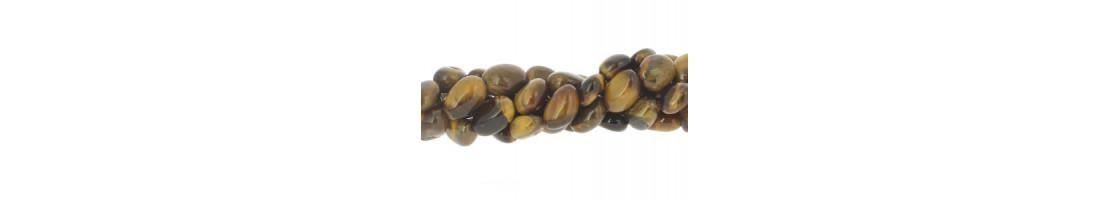 Perles pierres naturelles roulées ou nuggets - Zen Desprit