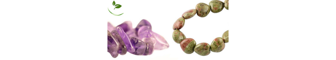 Perles en pierres naturelles polies - Zen Desprit