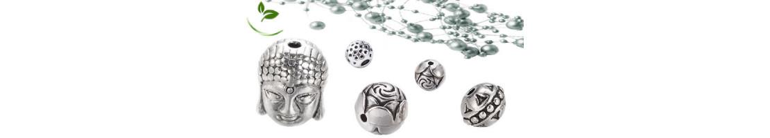 Perles en métal pour loisirs créatifs - Zen Desprit