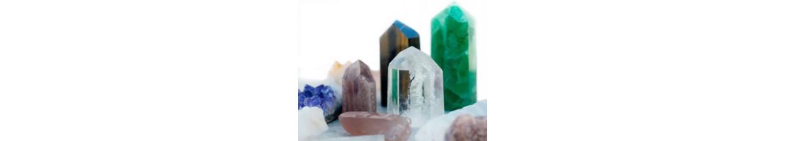Pointes naturelles de minéraux et de cristaux du monde - Zen Desprit