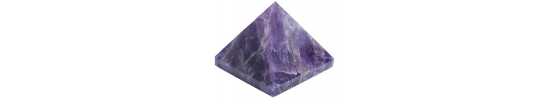 Pyramides en pierres naturelles et en orgonite - Zen Desprit