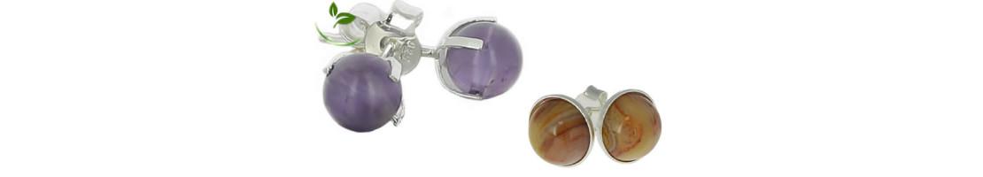 Bijoux d'oreilles pierre naturelle et Argent - Zen Desprit